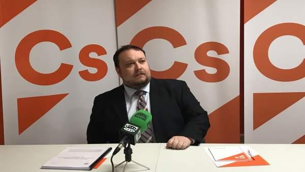 Rubén Gómez en rueda de prensa