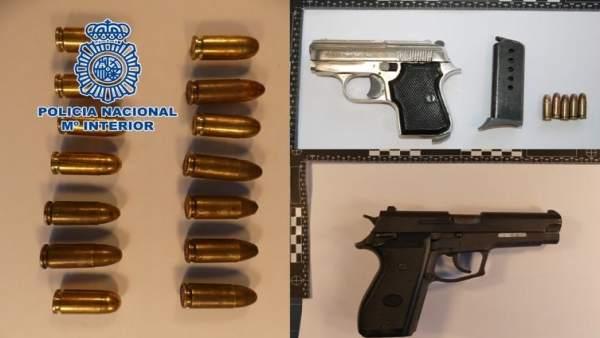 Nota De Prensa: La Policía Nacional Detiene A Un Individuo Que Portaba Un Arma D