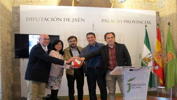 Presentación del Día del Balonmano Femenino de la provincia de Jaén 2018.