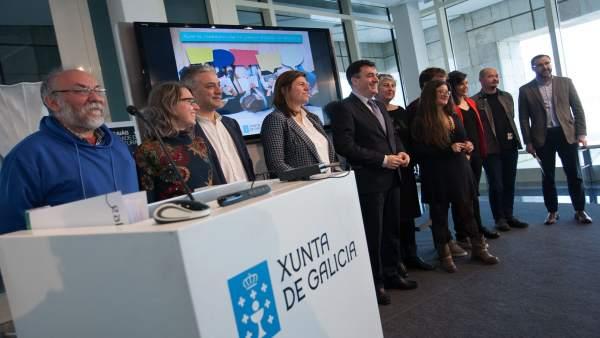 Presentación del primer plan de dinamización del gallego entre los jóvenes