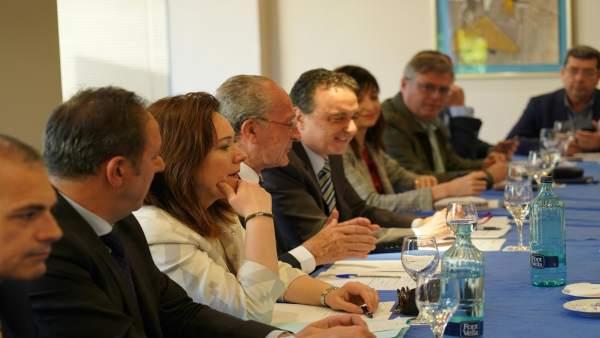 Foro de turismo con alcalde de Málaga e invitado al de Torremolinos Pepe Ortiz