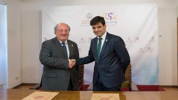 Firma Del Acuerdo En Salamanca