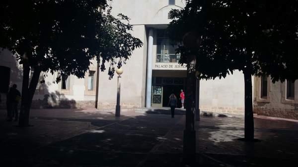 El Palacio de Justicia de Benalúa en imagen de archivo