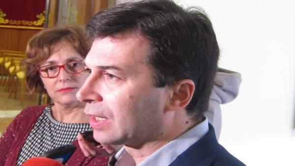 Gonzalo Caballero, en declaraciones a los medios