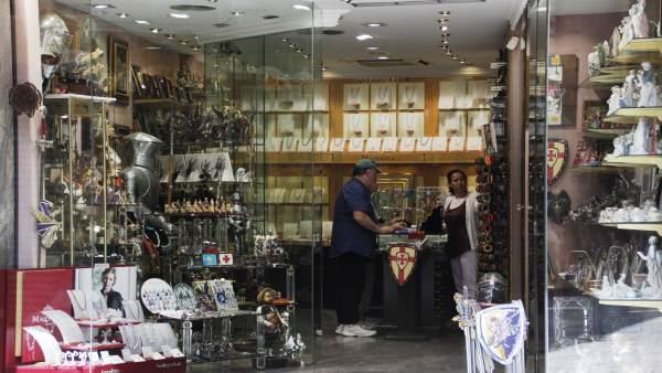 Comercio, tienda, comprar, joyas