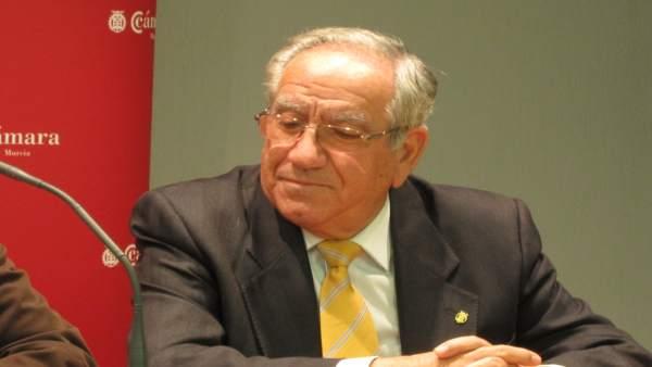 El ex presidente de la Cámara de Comercio de Murcia, Pedro García Balibrea