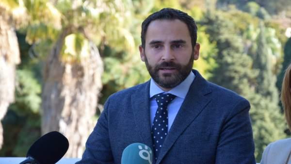 Daniel Pérez en Rueda de prensa