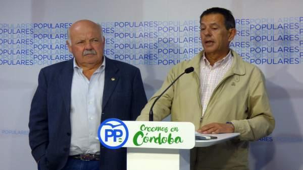 Rafael Merino y Jesús Aguirre