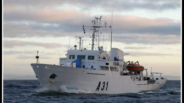 El buque hidrográfico 'Malaspina'