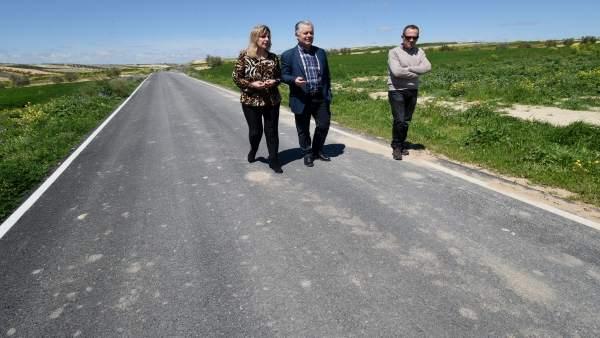 Visita a la carretera que une Chimeneas con La Malahá