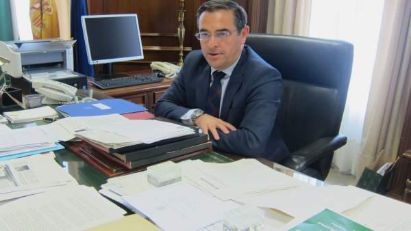 El subdelegado del Gobierno en Málaga, Miguel Briones