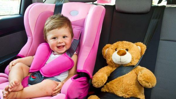 Llevar a los niños sin silla de coche