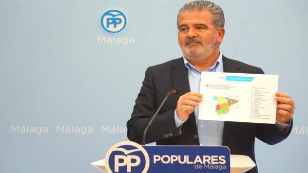 Joaquín Pérez del PP habla sobre riesgos laborales