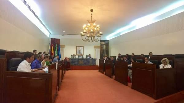 Pleno de la Diputación de Huelva del mes de junio 2017.