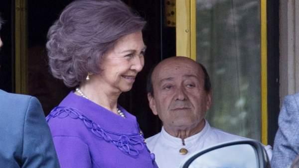 La Reina Sofía en un acto el pasado marzo