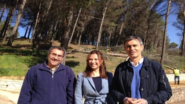 Delegado de Medio Ambiente. Ángel Acuña, en El Gastor