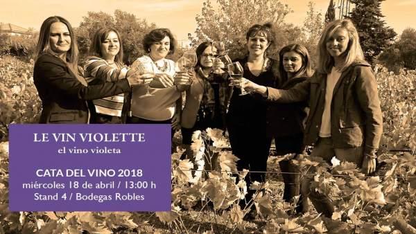 Tarjeta de presentación de 'Le Vin Violette'