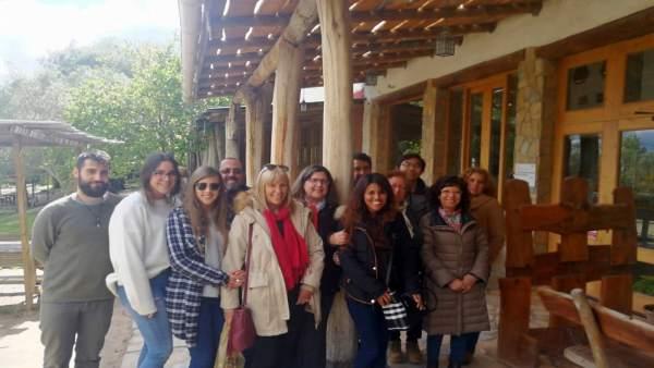 Alumnos de la UCA visitan la GDR de la Campiña de Jerez