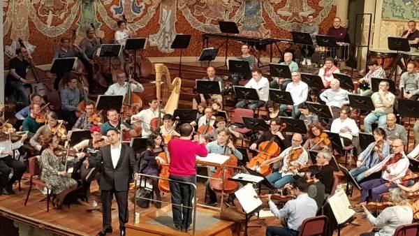 Flórez y la Orquesta de València