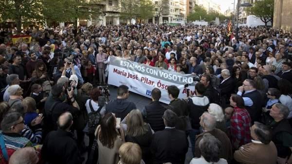 Apoyo a los agredidos en Alsasua
