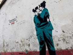 Investigan si una obra aparecida en Ferrol es de Banksy