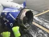 Motor del avión