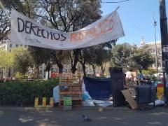 Investigan la muerte de un sintecho apalizado en Barcelona