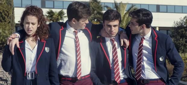 La segunda producción española de Netflix es 'Élite', una especie de 'Física o química' con lucha de clases