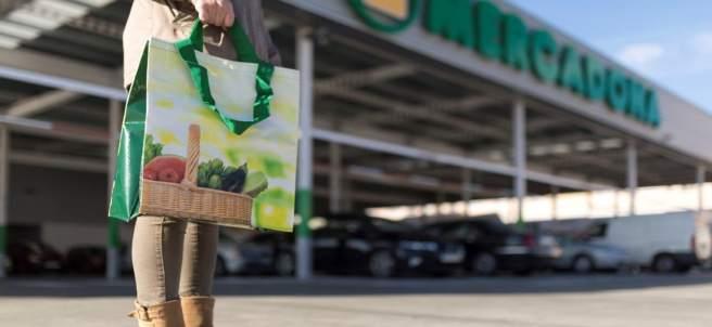 Exterior de un supermercado de Mercadona