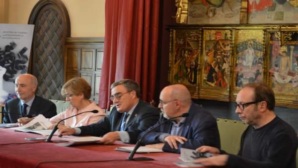 Presentación de la Mostra de cine de Lleida
