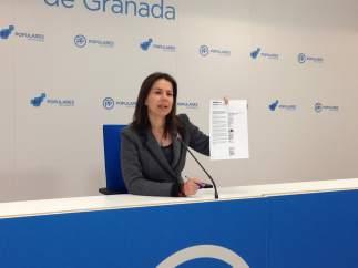 La parlamentaria andaluza del PP, Ana Vanesa García