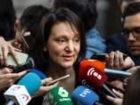 La diputada de Podemos, Carolina Bescansa, este miércoles.