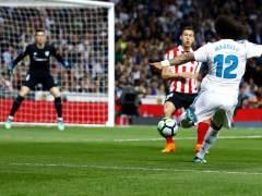 Exhibición total de Kepa en el Bernabéu