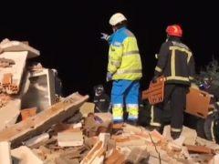 Herida una pareja de ancianos que fueron hallados entre los escombros tras una explosión de gas en su vivienda