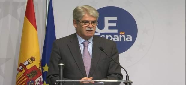 Alfonso Dastis, ministro de Exteriores de España