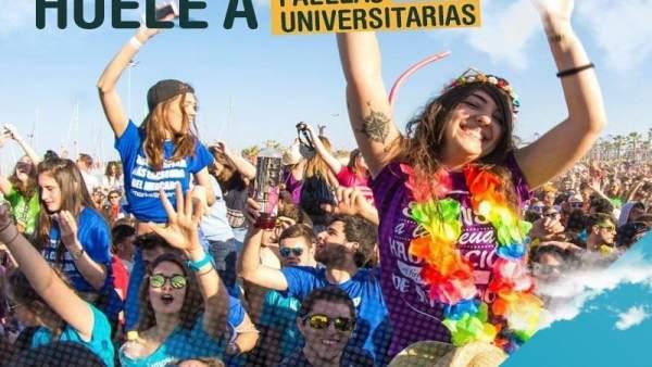 Cartel Paellas Universitarias de Moncada