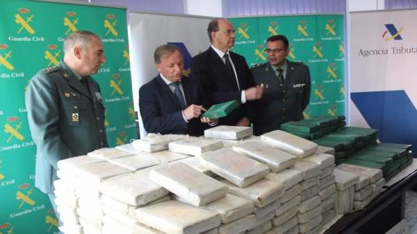 Interceptados 325 kilos de droga en el Puetro de València