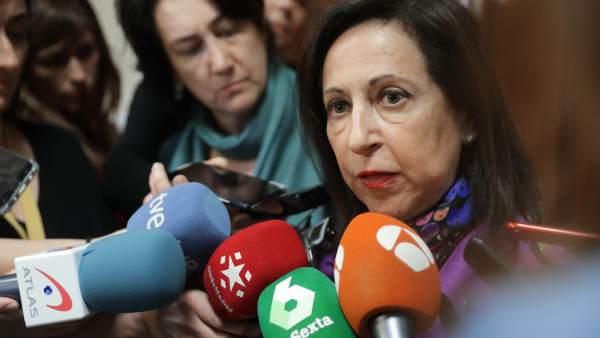 La portavoz del grupo parlamentario socialista, Margarita Robles.