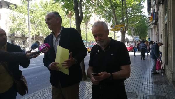 El abogado Fernando Mateas y el empresario Bartolomé Cursach