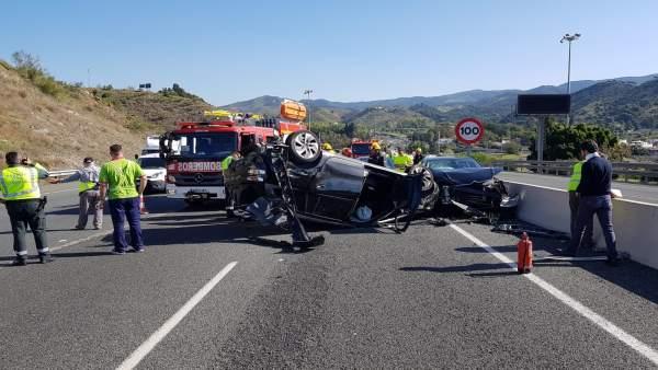 Accidente en Málaga
