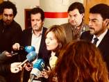 Bonig junto a dirigentes del PP alicantino (archivo)