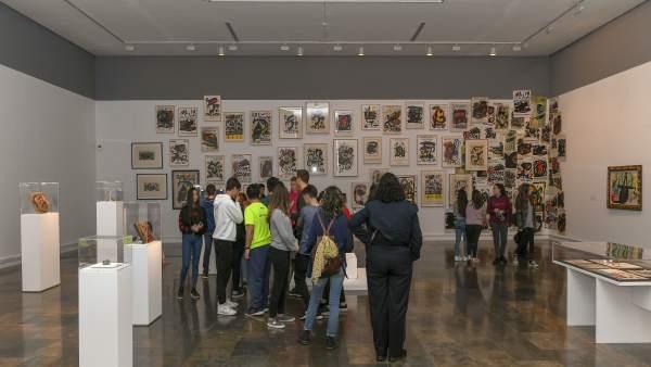 La exposición de Joan Miró en el IVAM