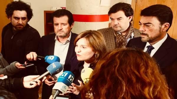 """Bonig felicita Barcala (PP) com a nou alcalde d'Alacant: """"La reconquesta de la Comunitat Valenciana comença en el sud"""""""