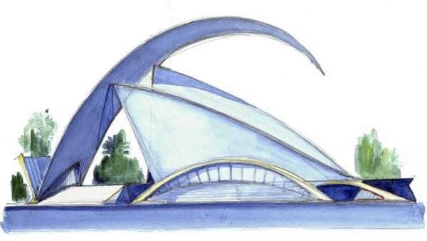 Praga acoge una exposición de Calatrava