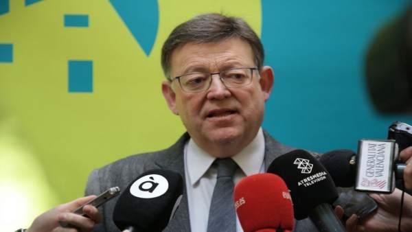 """Puig diu que les forces progressistes d'Alacant no podien acceptar """"cap xantatge"""" i el PSPV ha actuat """"amb ètica"""""""