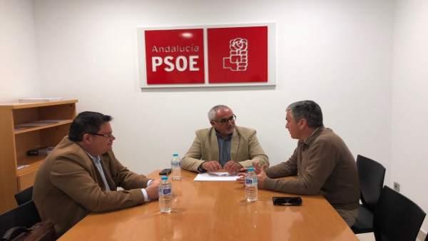 El PSOE se reúne con asociación de diabéticos en Huelva.