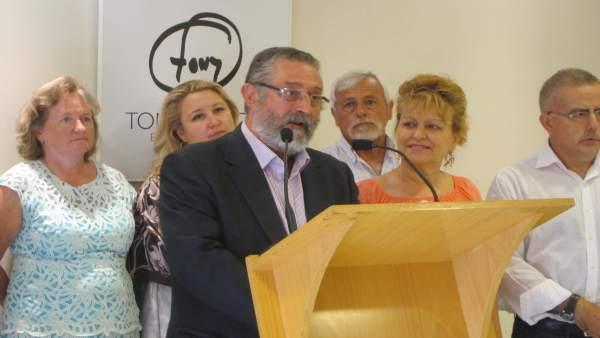 El alcalde de Albox, Francisco Torrecillas