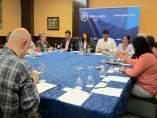 Reunión del PP andaluz con colectivos sanitarios de la provincia de Jaén.