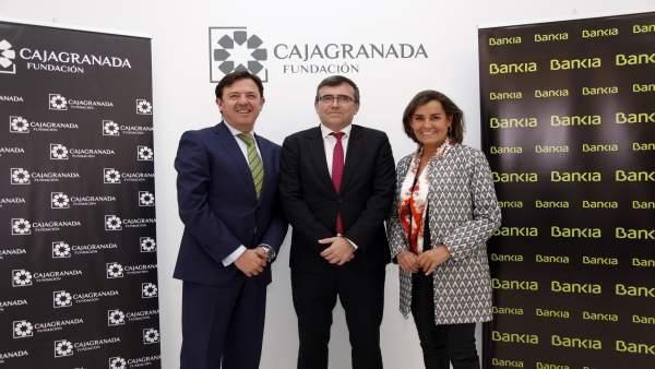 Responsables de Bankia y CajaGranada Fundación