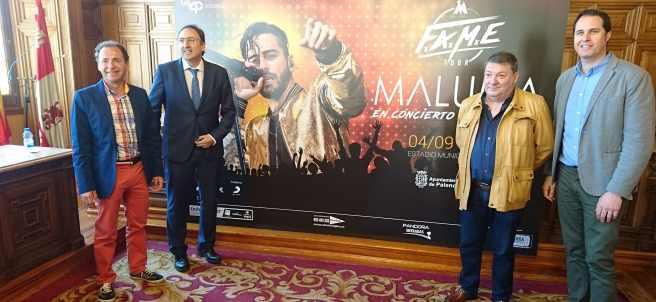 Presentación del concierto de Maluma